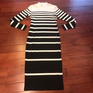 👗two piece h&m midi sweater dress bundle